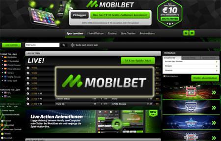 mobilbet Fussballwetten Bonus screenshot
